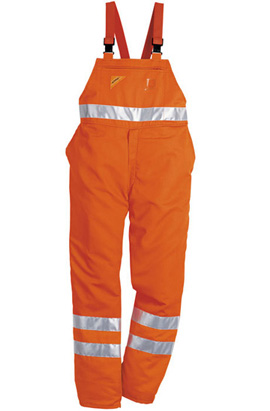High Visibility bib and brace