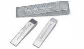 Kliny aluminiowe