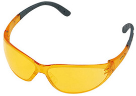 Contrast safety glasses - yellow