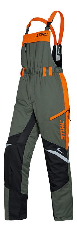 Protipořezové kalhoty s náprsenkou FUNCTION ERGO