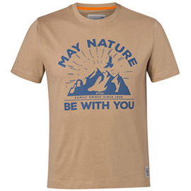 "T-Shirt ""MAY NATURE"", Farbe Sand,nature"