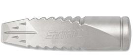 Coin vrillé à refendre en aluminium