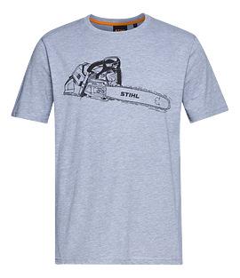 Pánské tričko MS 500i šedé