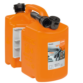 Combination canister, orange