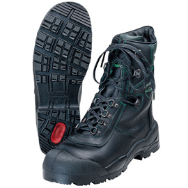 COMFORT chain saw leather boots