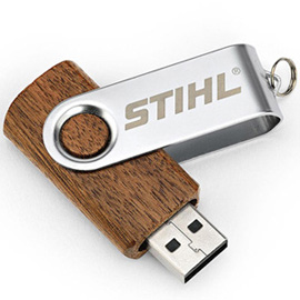 Wooden USB stick 16 GB