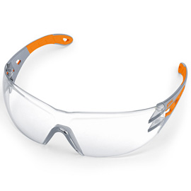 LIGHT PLUS Safety glasses, clear