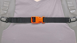 Chest belt for ADVANCE universal harness