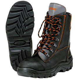 leather chainsaw boots RANGER