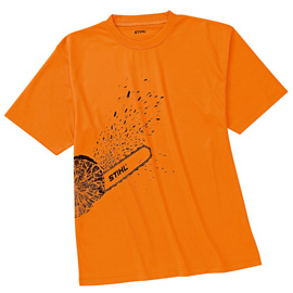 DYNAMIC Mag Cool T-shirt - orange