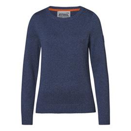 Pullover blau, Damen