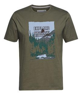 Pánské tričko EXPLORE zelené