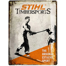 Plaque historique TIMBERSPORTS ®