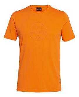 T-shirt LOGO CIRCLE oranje
