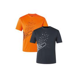 T-Shirt DYNAMIC Mag Cool, orange / schwarz