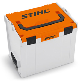 Battery boxes for AP or AR batteries and chargers