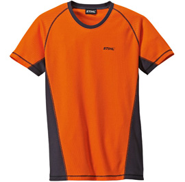 Orange logger t-shirt