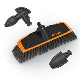 Vehicle cleaning set