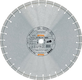 Diamond cutting wheel - hard stone / concrete (SB)