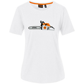 "T-Shirt ""CHAINSAW"" Damen"