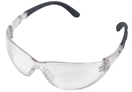 Contrast safety glasses - clear