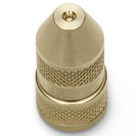 Adjustable brass nozzle