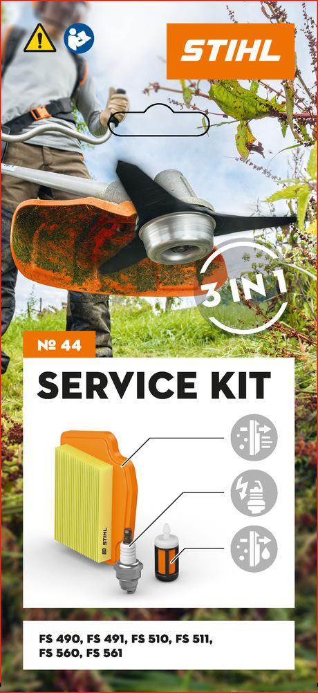 Zestaw serwisowy nr 44 do FS 240/260/360/410/460 i FR 410/460