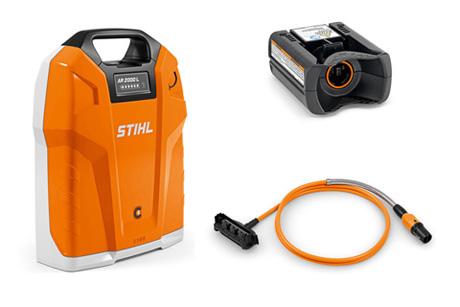 AR 2000 L Backpack battery set