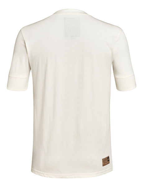 T-Shirt HENLEY biały