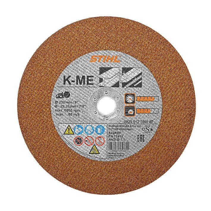 Отрезной круг из синтетической смолы K-ME, Ø 230мм/9