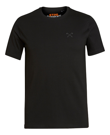 T-shirt SMALL AXE zwart