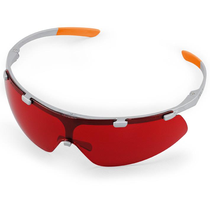 SUPER FIT védőszemüveg - piros lencsével