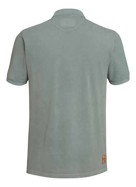 Poloshirt ICON GARMENT blau
