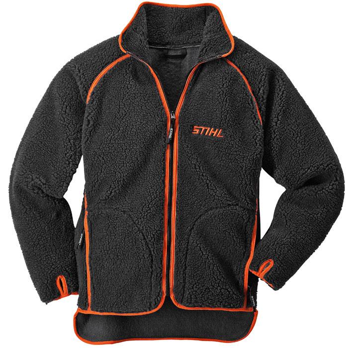 Утепленная куртка ADVANCE антрацитовая/оранжевая