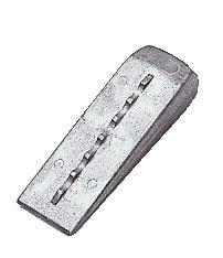 Cunha em alumínio 190g / 12x4 cm