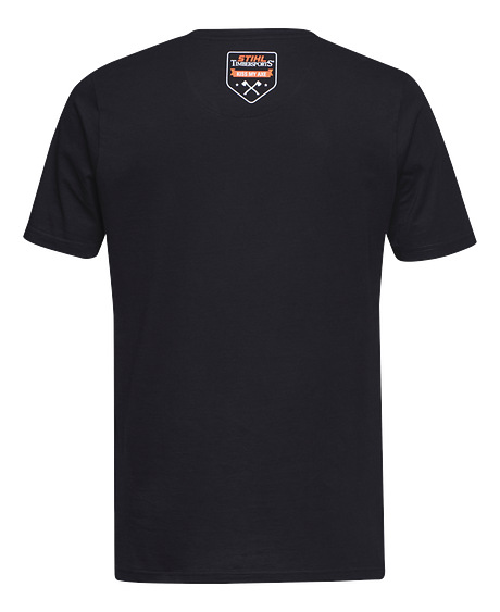 Axe T-Shirt TIMBERSPORTS® - Black / Grey
