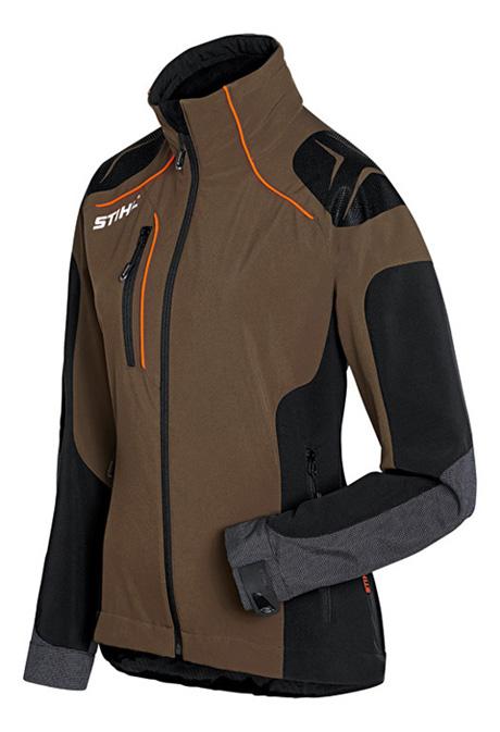 Advance X Shell Jacket Womens Peat Black