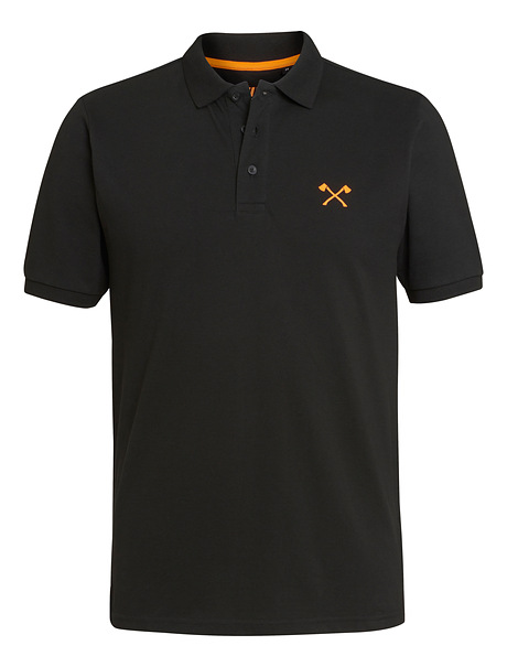 Polo SMALL AXE noir