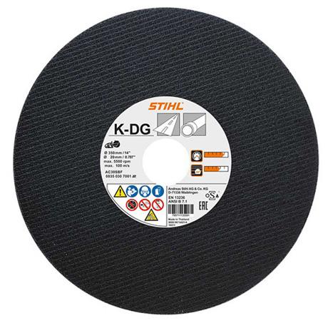 Отрезной круг из синтетической смолы K-DG