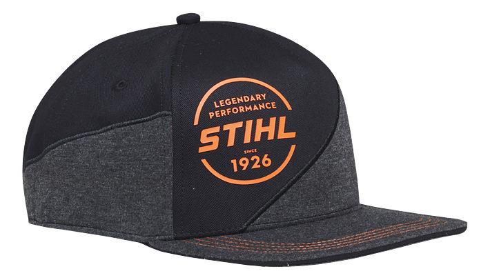 Cap with a circular logo