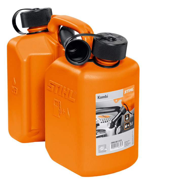 Bidon combiné, orange, 3l/1,5l