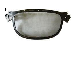 Reservvisir till STIHLs visir i serie V4 och V40