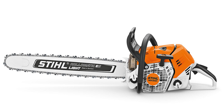 MS 500i - Innovative new chainsaw with electronically