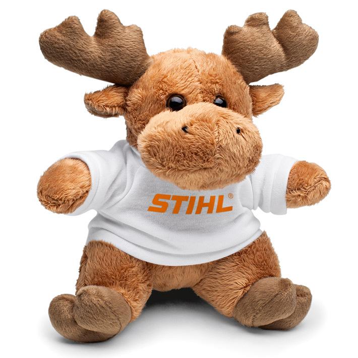 Moose cuddly toy