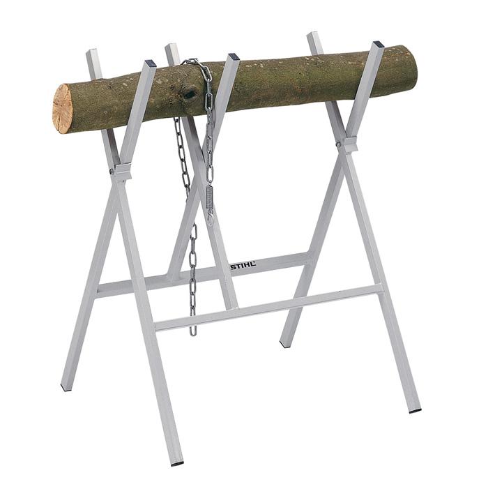 Metal sawhorse