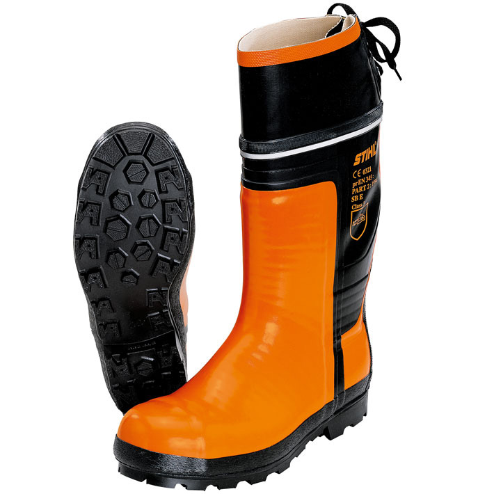 SPECIAL rubber chainsaw boots