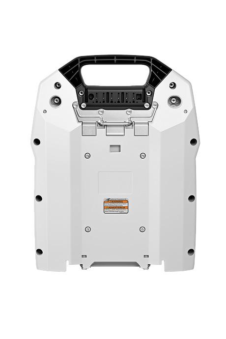 Rygbåret batteri AR 3000 L med adapter AP og tilslutningsledning