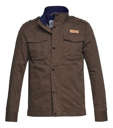 Badge field jacket