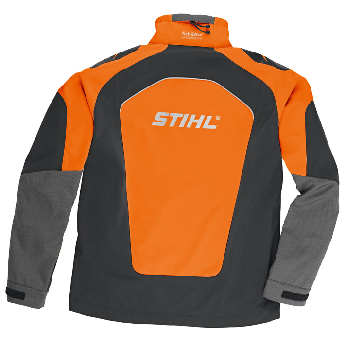 ADVANCE X-SHELL Jacke, Herrenmodell, orange/schwarz