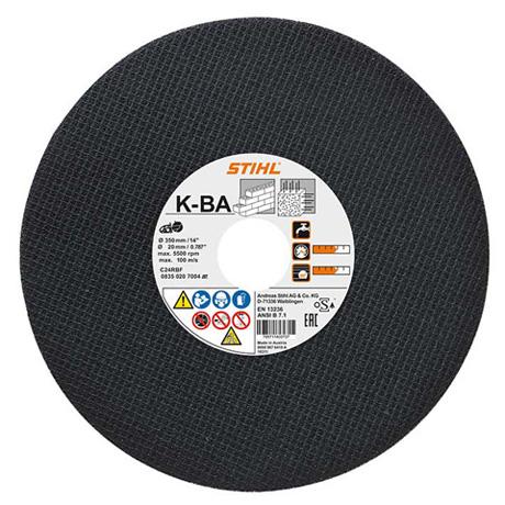 Отрезной круг из синтетической смолы K-BA